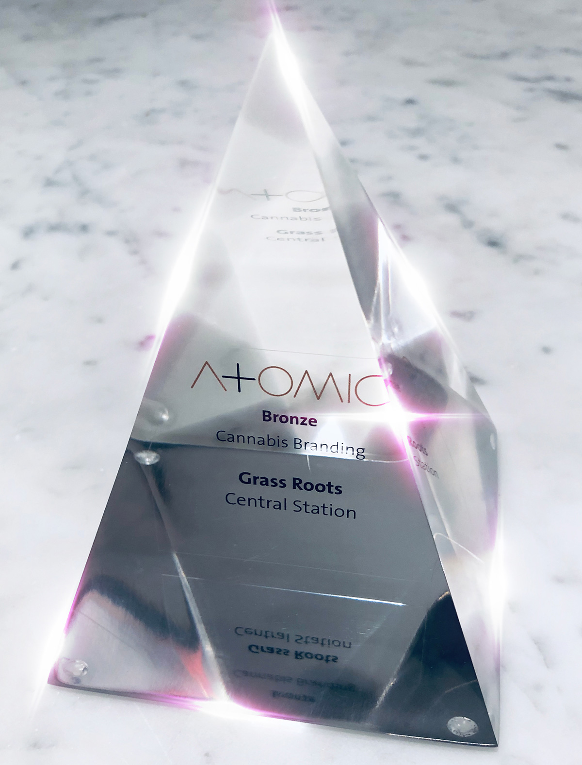 Atomic Award - Recognition Is Central