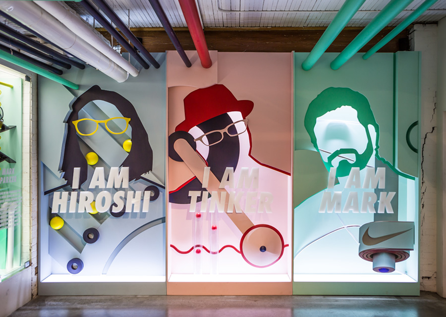 Retail Environment Design for Nike Air Max Day - Central Station