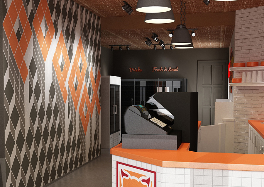 Shop Design and Layout for Popbox's Upscale Market - Central Station